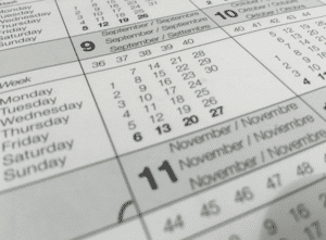 create a solid time table for studying