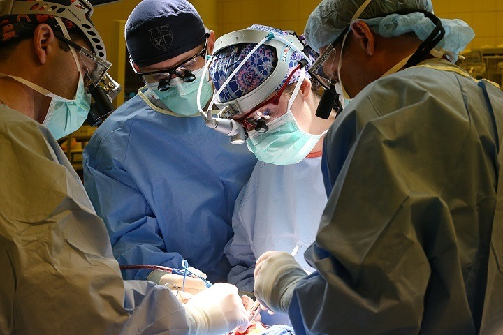 Operation during residency