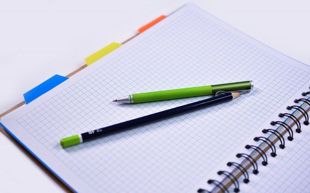 Preparing for writing