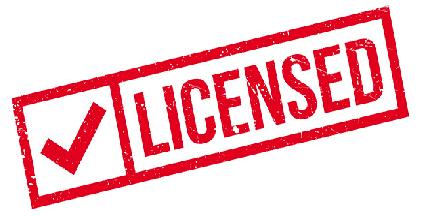 Stamp licensed