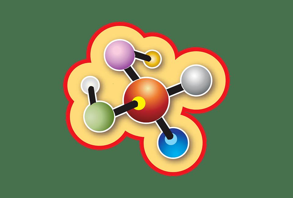 molecule graphic design