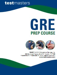 Testmasters GRE course cover