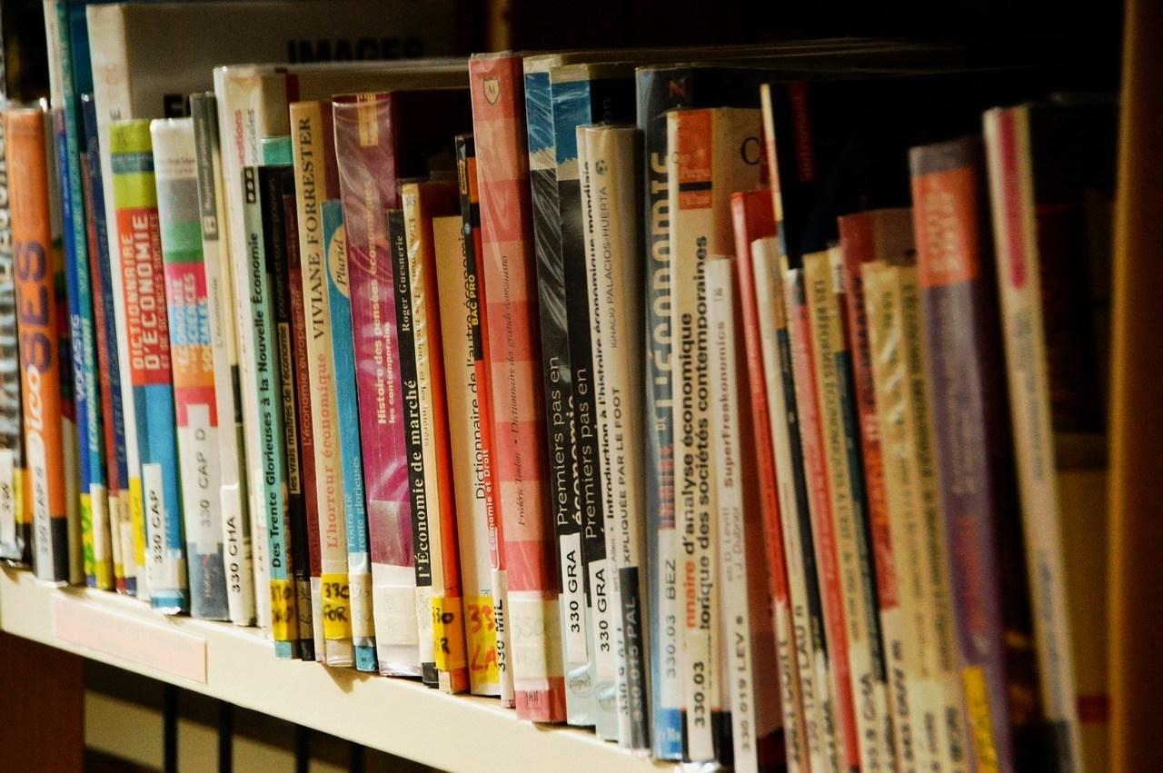 Various Books on the Shelf