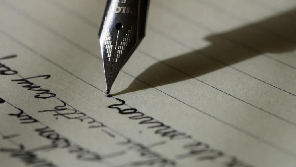 cool handwriting