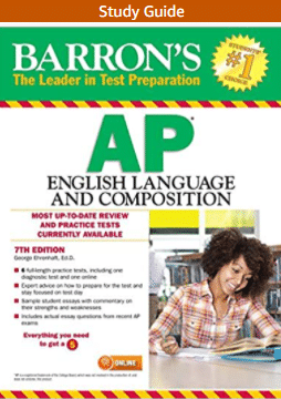Baron's AP English Language and Composition Cover
