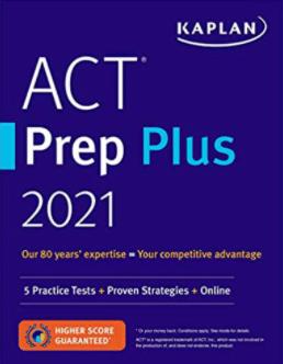 Kaplan ACT Prep Plus Cover