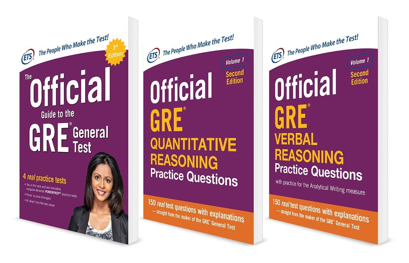 Official GRE Super Power Pack Books