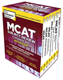 Complete Box Set The Princeton Review MCAT Subject Review